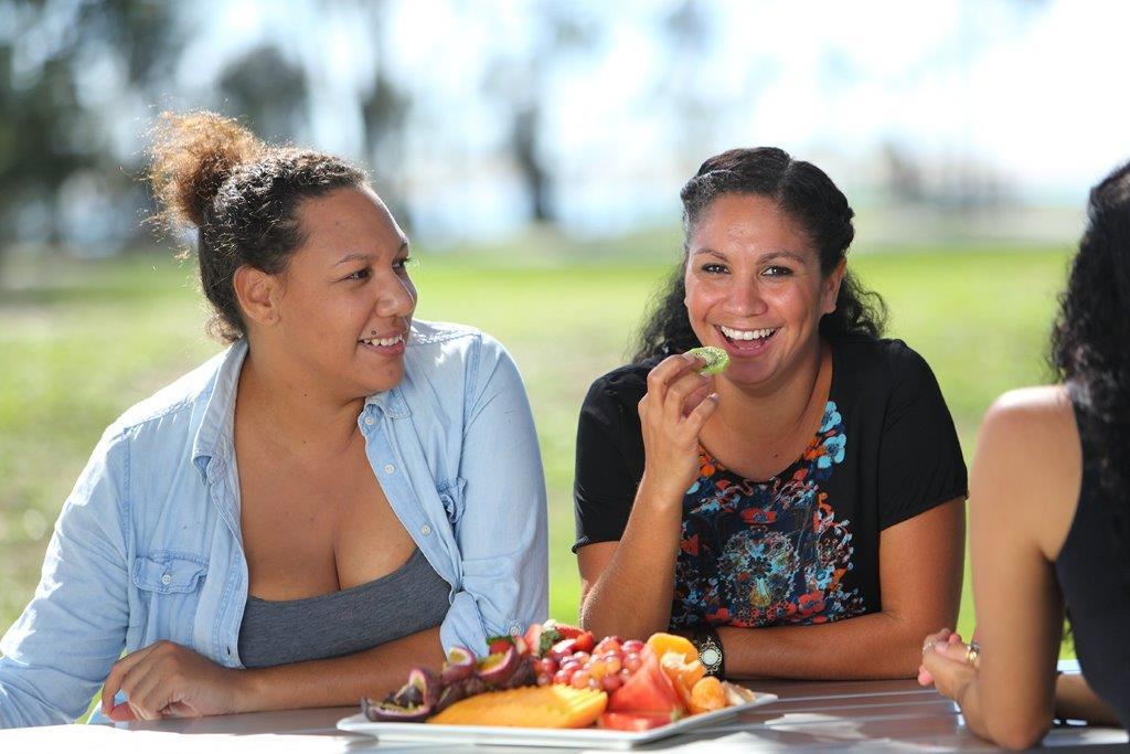 girls eating fruit edited