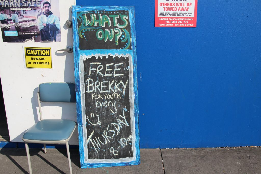 Brekky Sessions Sign